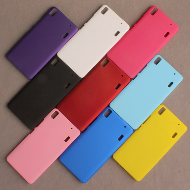 free shipping 69ef8 77885 US $5.92 6% OFF|FOR Lenovo K3 note protective case K3note matte 0.8mm ultra  thin cover K50 t5 5.5