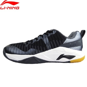 Li-Ning 2018 Men GLORY TD KNIT Badminton Training Shoes TUFF OS Durable Anti-slip Sneakers Li Ning Wearable Sport Shoes AYTM075 tênis masculino lançamento 2019