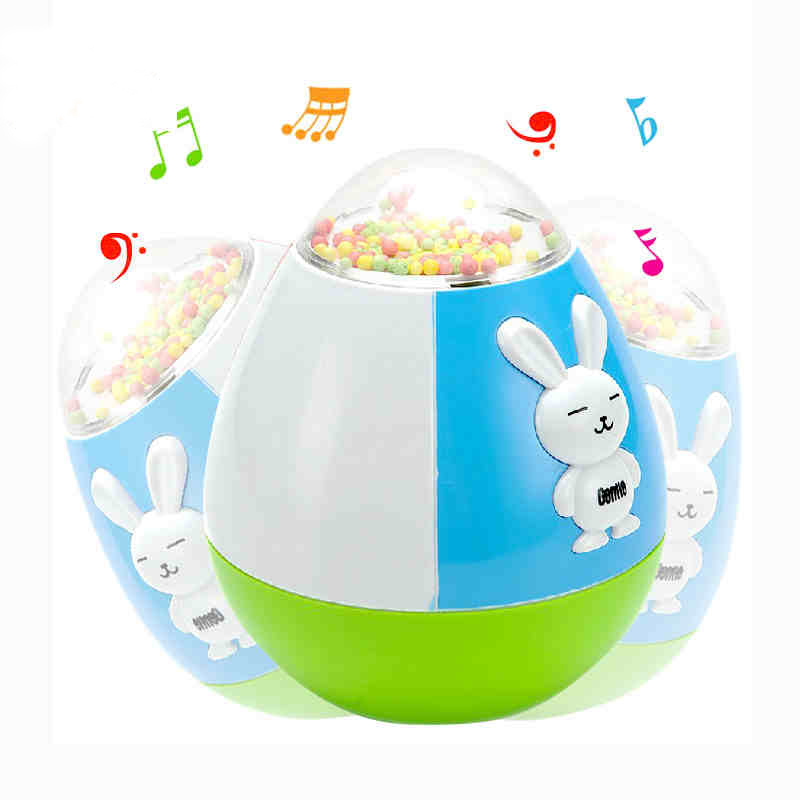 Toy Puppets Plastic Baby Color Sports 0-2-Years Unisex M Tumbler Musical-Puzzle Finished-Goods