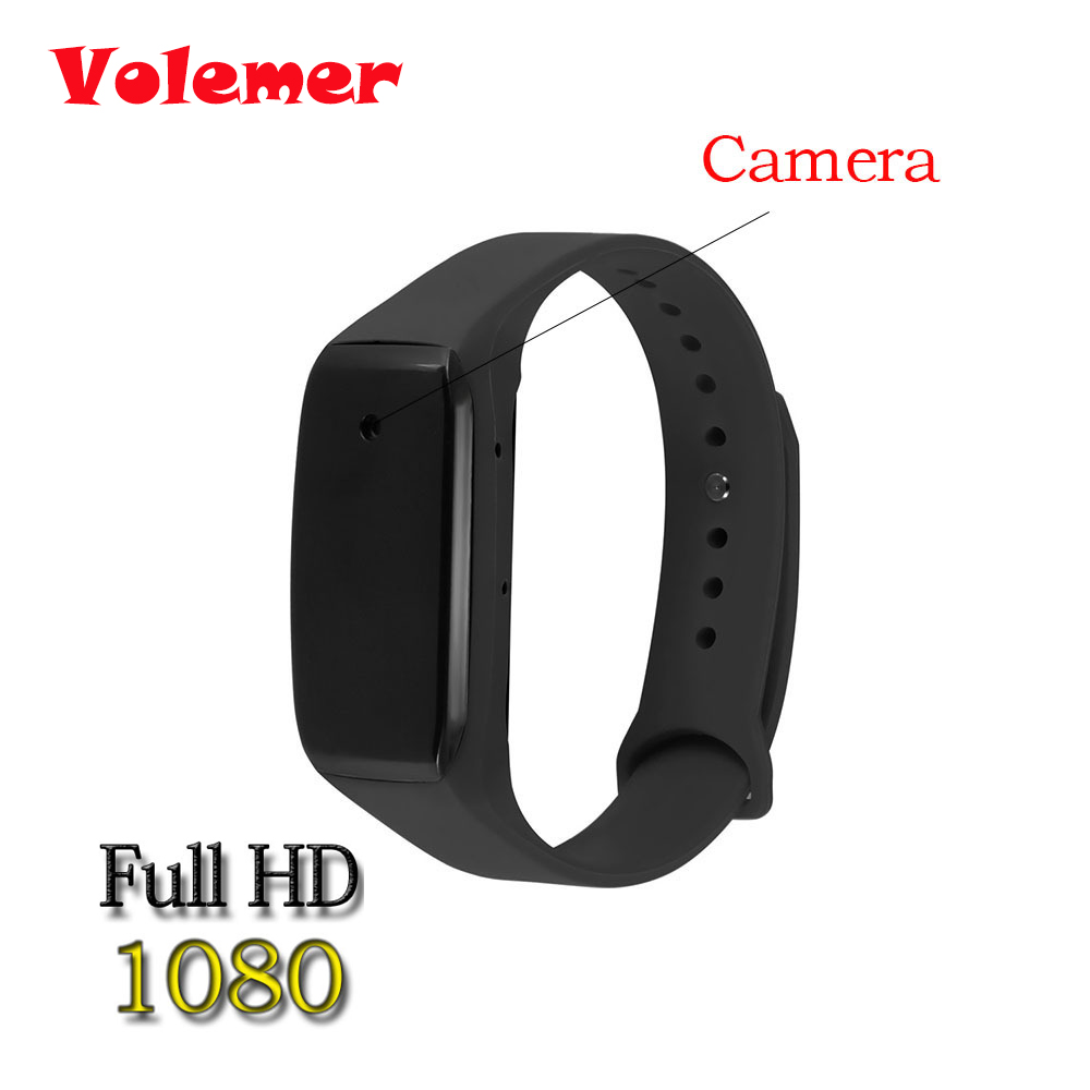New Wristband Mini Camcorder HD 1080P Camera Wearable Bracelet Camcorders Mini Camera Video Recorder Support TF