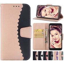 Luxury Simple Color Case For Samsung Galaxy Note9 S9 S8 Plus S7 Edge J3 J5 J7 A5 2017 A8 Flip Retro Cover PU Leather Capa DP03Z