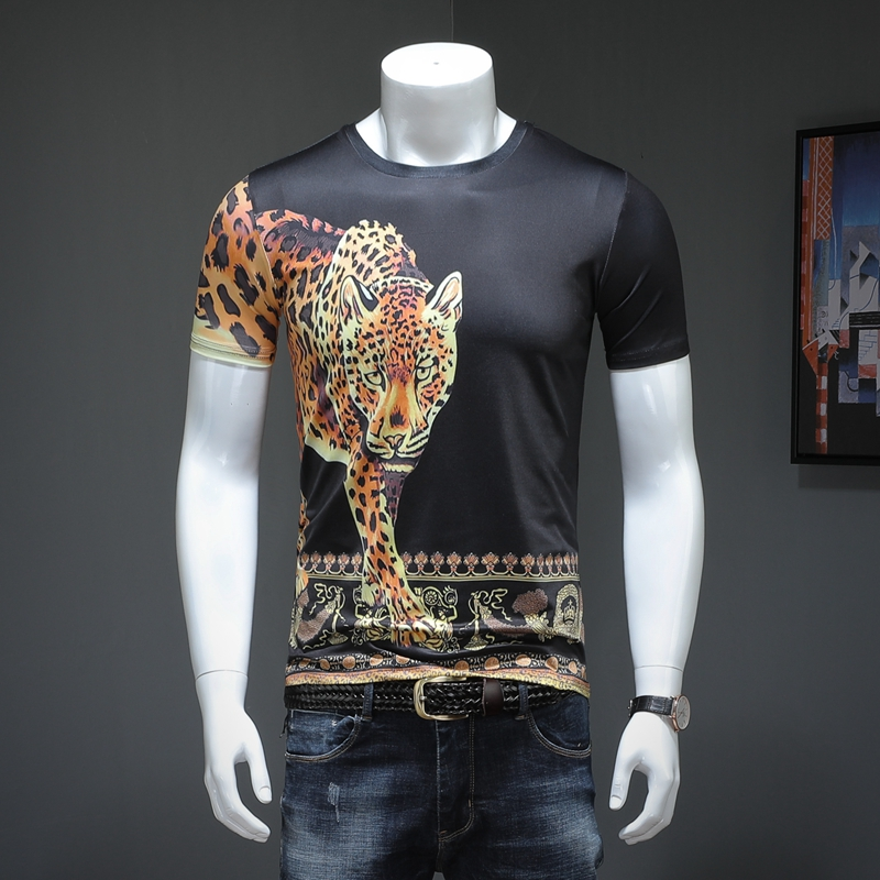 670cc2ef2d3c1ec 2019 Мужская футболка с короткими рукавами мужчин и половины рукав футболки  1117 p40