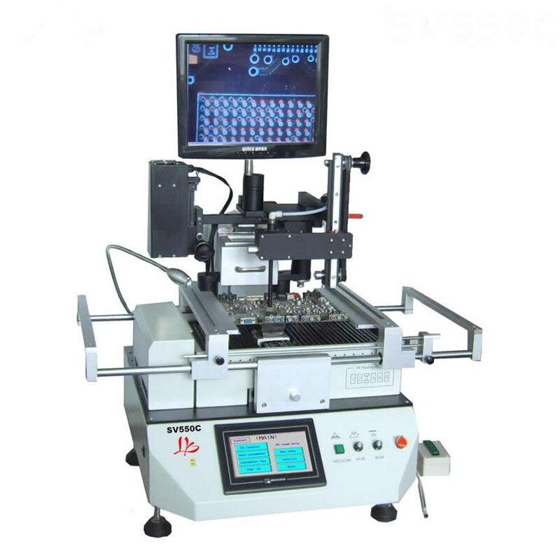 Meilleure Station de reprise automatique de haute technologie LY SV550C BGA avec système d'alignement optique pour la réparation de la carte mère