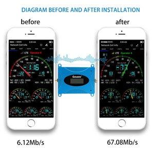 Image 3 - Lintratek GSM 850 CDMA UMTS נייד טלפון מגבר LTE 850mhz Celular אות מאיץ 2g 3g 4g מהדר סלולארי Repetidor סט #6