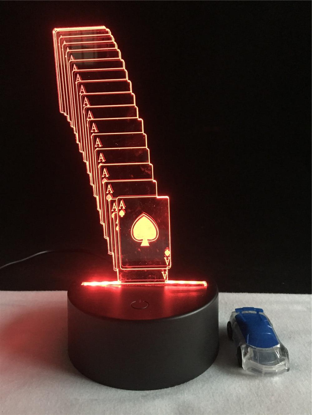 Luzes da Noite 7 mudança de cor Function 4 : Lampada Led/lamparas/led Lamp Indoor