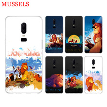 Simba The King Lion Durable Phone Back Case for OnePlus 7 Pro 6 6T 5 5T 3 3T 7Pro Art Gift Patterned Cases Cover Coque Capa