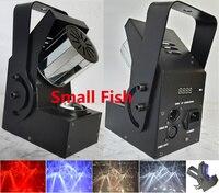 2xLot Wholesale Mini Led Roller Scanner Effect Light 10W Full Color Strobe Stage Lighting DJ Lamp