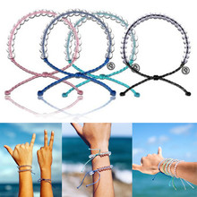 Fashion Bracelet Homme Mens Bracelets for women Femme Men Beads Bracelet  Ocean Stone Bracelets Bohemian Style Weaving Bracelet