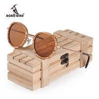 BOBO BIRD Polarized Wood Sun Glasses Metal Legs Eye Wear UV400 Lens Dropshipping Madeira Lentes De Sol U-AG027