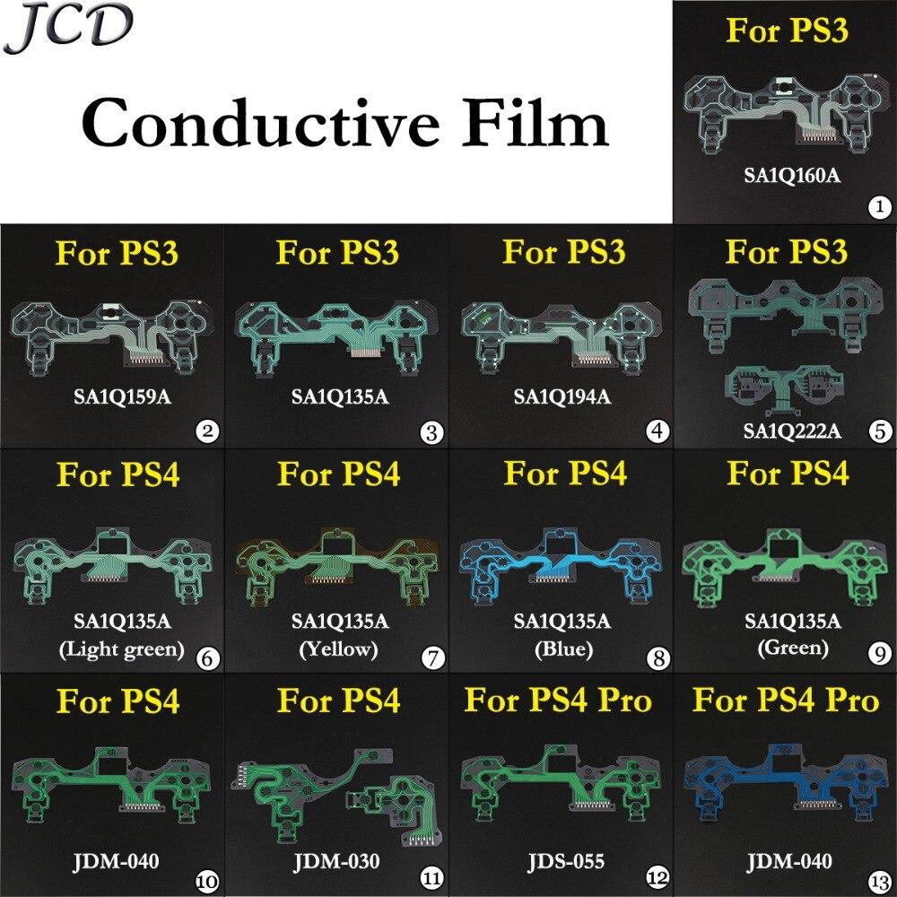 31.84руб. 10% СКИДКА|JCD кнопки ленточная печатная плата для PS3 PS4 Pro тонкая проводящая пленка для контроллера клавиатура гибкий кабель PCB JDS 050 JDM 040|Сменные детали и аксессуары| |  - AliExpress