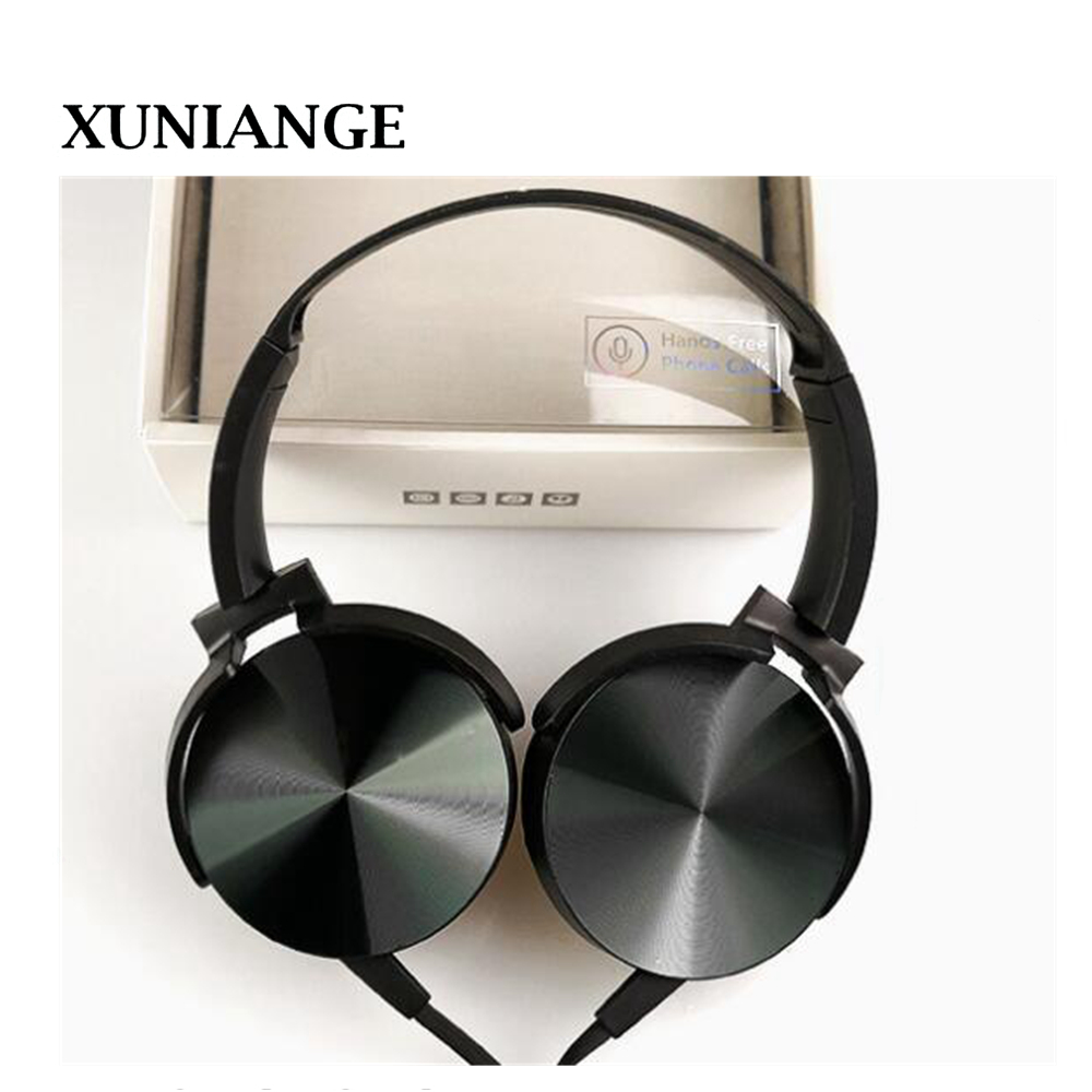 цены New Wired Headphones With Microphone Over Ear Headsets Bass HiFi Sound Music Stereo Earphone For iPhone Xiaomi Sony Huawei PC