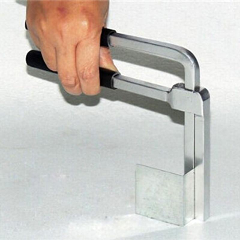 Aluminum Sheet Bending Plier Ss Channel Letter Metal Sign Square Round Bender Welding Plier 10cm