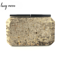 New evening bags fashion bling day clutch gold black pink evening clutch bag purse and handbags full dress party bag ZD947