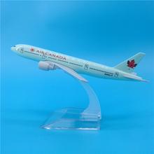 16cm Air Kanada Boeing 777 Flugzeug Modell Legierung Flugzeug Modell Kanadischen B777 Airways Airbus Modell Fliegen Flugzeug Geschenk Souvenir spielzeug cheap Prenoy Metall CN (Herkunft) 1 400 Flugzeuge 3 Jahre alt Unisex