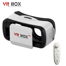 VR BUCINUM VR BOX 3.0 PRO 3D VR Glasses Virtual Reality Glasses Support 4.5-5.5″ Smartphones +Wireless Controller for 3D Games