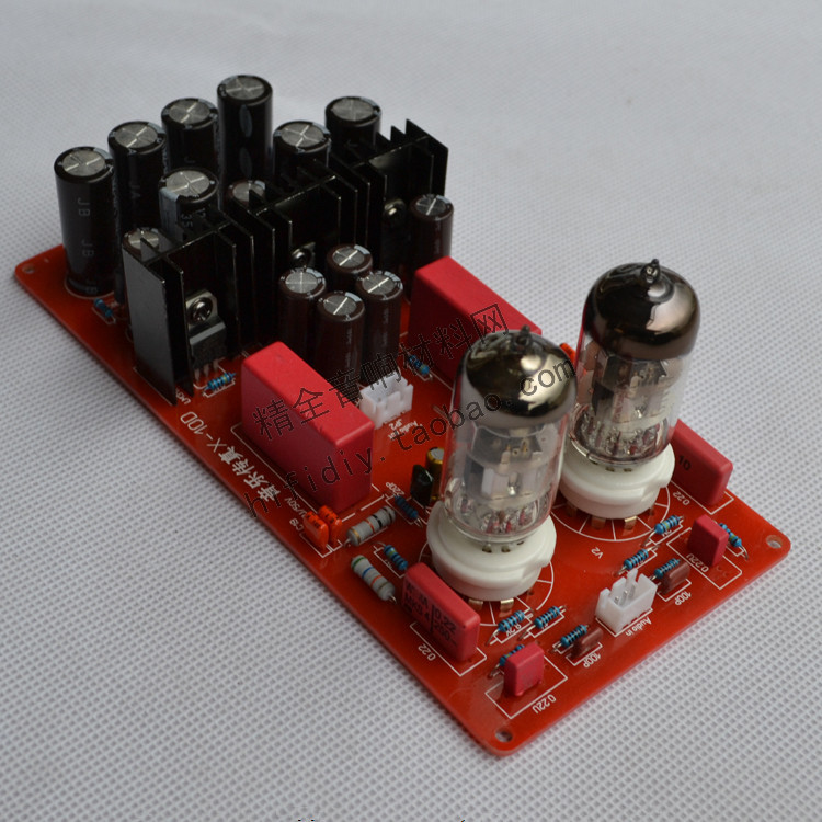 X-10D DIY fever Tube buffer stage Pre-amplifier board With Voltage Regulator 6N11 tube amp board александра треффер полигон зла фантастическая повесть