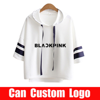 Blackpink 2019 Hip Hop hoodies Kpop sweatshirt Tops clothes kawaii summer hoodie women harajuku women clothes 2019