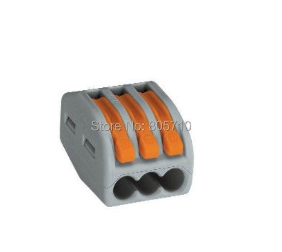 222 413 original wago connector led splice connector led. Black Bedroom Furniture Sets. Home Design Ideas