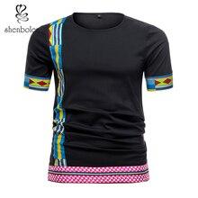 African men clothes Shirt Summer Fashion Tradition shirt Dashiki top Wax Fabric Print Man Clothing african Short Sleeve
