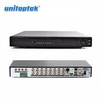5 в 1 Hybrid DVR Регистраторы 16CH AHD 1080 P 16CH CVI TVI CVBS 16 каналов 2 * SATA HDD AHD DVR 16CH NVR DVR Регистраторы