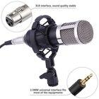 BM-800 Condenser Microphone for computer Audio Studio Vocal Recording Mic KTV Karaoke Microphone stand Set