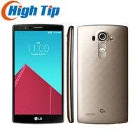 סמארטפון המקורי LG G4 H815T H810 H818 Quad core 32 GB ROM 16.0 מגה פיקסל מצלמה 5.5 ''1440x2560 פיקסלים 4 גרם LTE Moblie טלפון