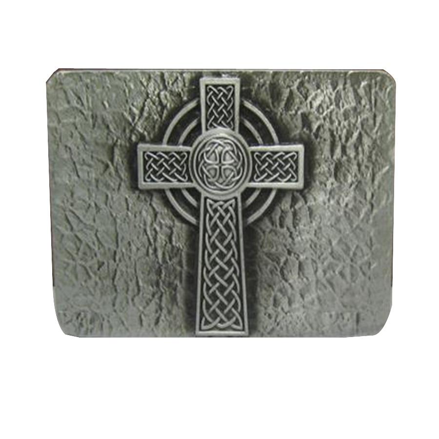 3a6f80d7bf6a Mens De Luxe Marque Designer En Métal boucles De Ceinture Nouvelle année  cadeaux DIY Vintage Crucifix cadeau De Noël