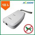 Aosion Battery Ultrasonic Anti Latido Bark Stop Pet Trainer Dispositivo de Treinamento de Cães Repeller Repelente com lanterna LED