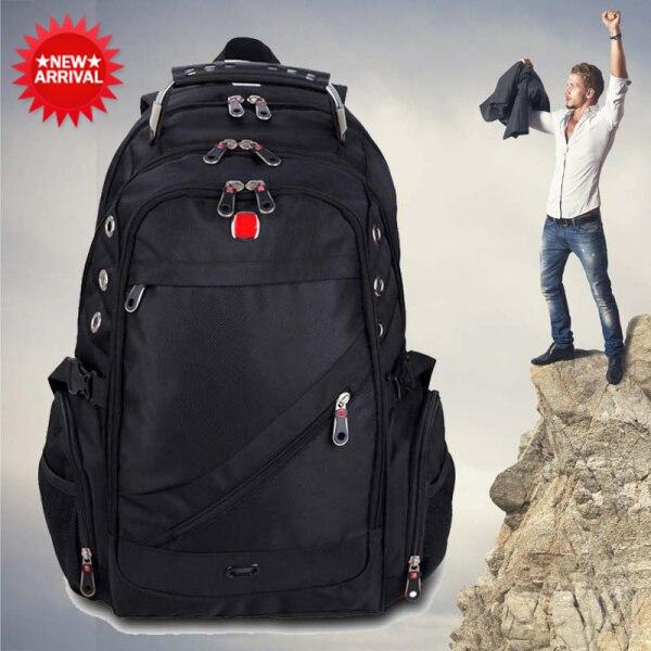c5200de9864b 2015 Outdoor backpack men s travel bags waterproof mountaineering laptop  backpacks computer men luggage bags mochila masculina