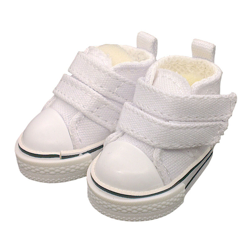 Tilda 5pairs/lot 5cm Canvas Shoes For BJD Doll,Original Textile Doll 1/6 Denim Sneakers Shoes for Tilda Doll Toy Accessories