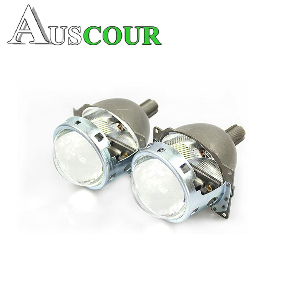 Car styling 3.0 inches bixenon projector lens Q5 high beam and low beam for h4 h7 h11 9005 9006 HID healight retrofit DIY lens gztophid 3 bifocal q5 projector lens 35w hid bulb shroud and high low beam control wire for h1 h4 h7 h11 9005 9006
