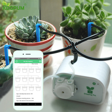 Garden Automatic Watering System Succulents Plant Drip Irrigation Water Pump Timer Phone Bluetooth Control EU/US/UK/AU Plugs