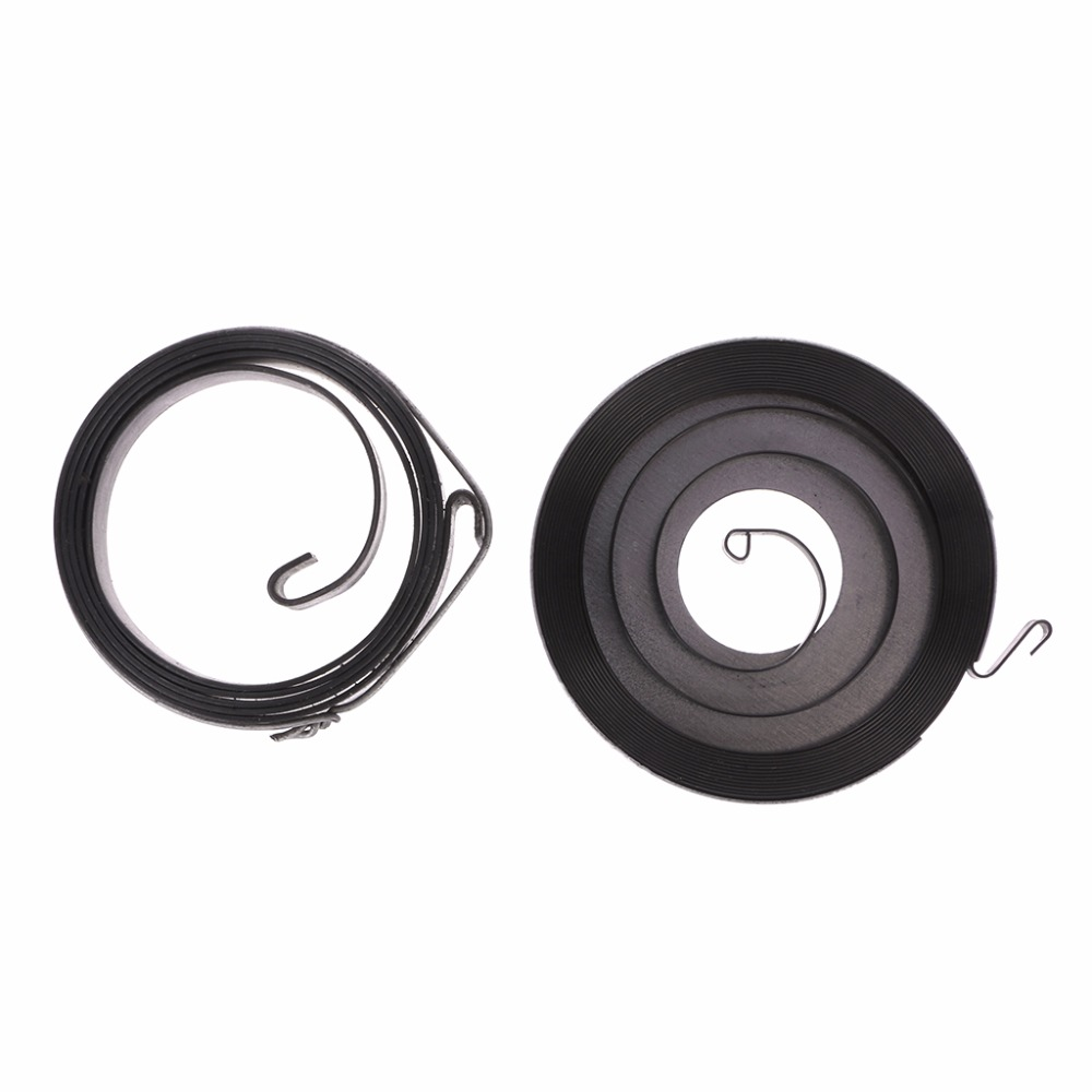 2pcs//Set Easy Starter Rewind Spring for Petrol Chainsaw 5200 5800 Spare Pa