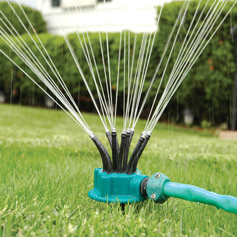 Nozzle Irrigation Sprinkler Noodle-Head Garden Flexible 360-Degree Lawn 1set