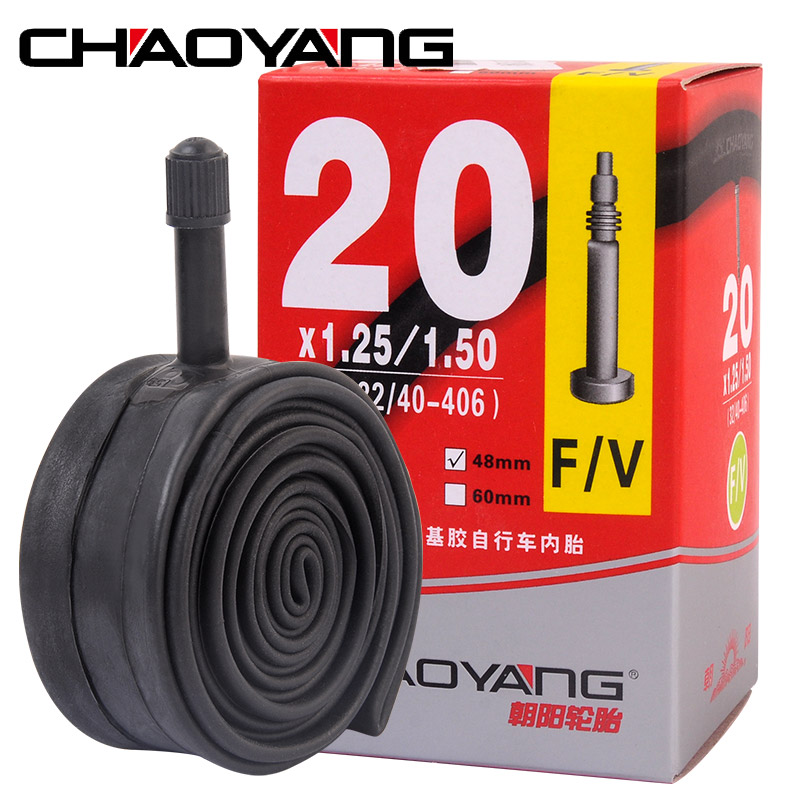 <font><b>20</b></font> Inches Folding Bikes Tyre Bicycle Inner Butyl rubber Tube <font><b>Tire</b></font> For 11/8 1.25/1.5 1.5/1.75 1.95-2.125 A/V F/V Valve image