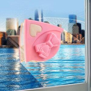 Image 1 - مُنظف نوافذ مغناطيسية ممسحة مزدوجة الجانب المغناطيسي فرشاة لغسل النوافذ معالج تنظيف فرشاة غسل ممسحة الزجاج النظيف المغناطيس