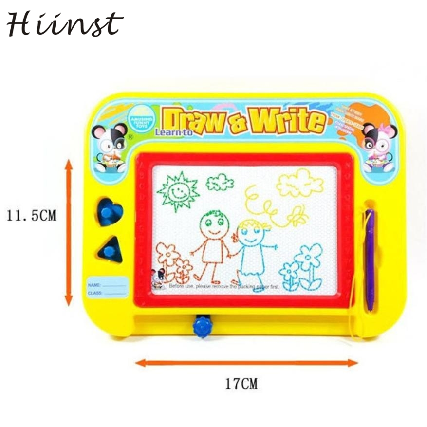 HIINST Children Magnetic Writing Painting Drawing Graffiti Board Toy Preschool Tool Color magnetic writing board july14 P30Aug15