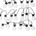 10 M 38 LED guirlande lumineuse d'extérieur fée lumières guirlande G50 ampoules jardin Patio mariage décoration de noël chaîne lumineuse étanche