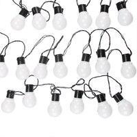 10M 38 LED String Light Outdoor Fairy Lights Garland G50 Bulbs Garden Patio Wedding Christmas Decoration Light Chain Waterproof