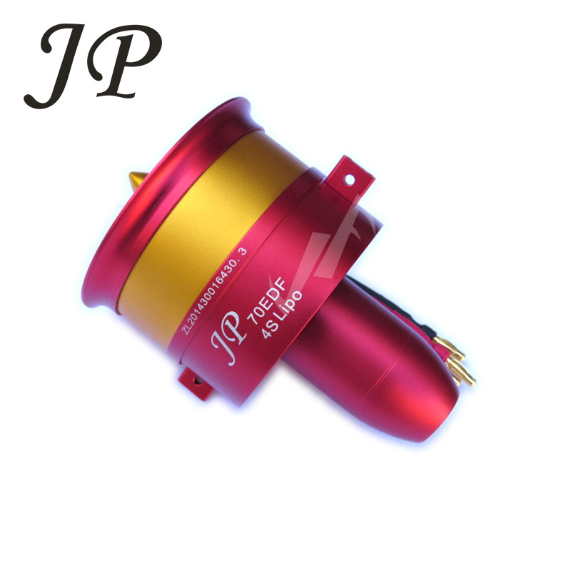 Hot Sale Metal JP/GP 70mm Ducted Fan EDF Jet 12 Blades 2s-6s Lipo Motor Electric for RC airplane Model Accessories Parts запчасти и аксессуары для инструментов 50 29mmx4mm gp 2s