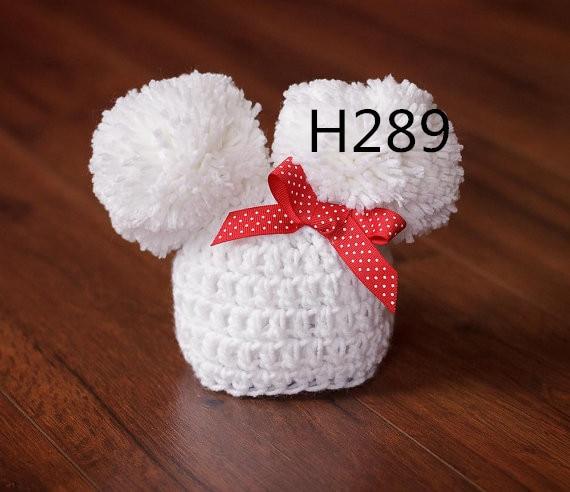 Bonnet d'hôpital pour nouveau-né, couleur blanche Bonnet classique - Vêtements pour bébés