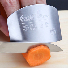 050 кухонный инструмент из нержавеющей стали, защита для пальцев, нож, срезанный ломтик, безопасный защитный нож, инструменты для защиты пальцев 6,2*4,5 см