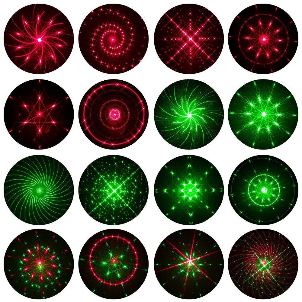 Лазерный проектор огни красный и зеленый движущиеся звездное небо пейзаж свет Рождество Крытый Открытый украшения сад прожекторы