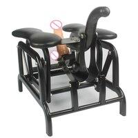 Ручная качели диван сиденье секс стул подключен фаллоимитаторы с всасыванием и Fuk Robo Dildos Классическая секс игрушка для женщины и мужчины