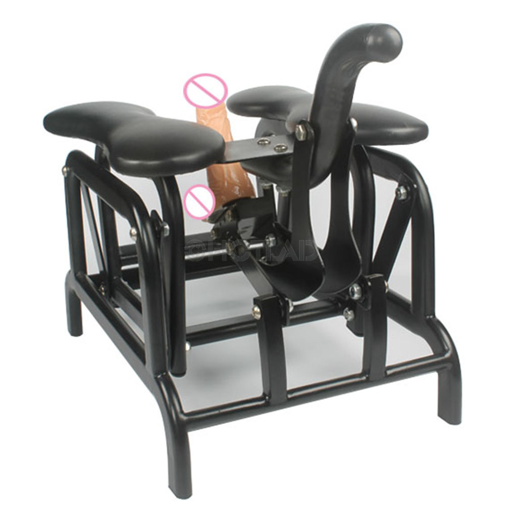 Manual Swing Sofa Seat Sex Chair Connected Dildos with Suction and Fuk Robo Dildos Classic Sex Toy for Woman and Man