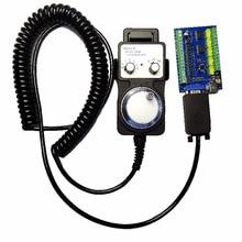 MACH3 USB 5 Axis 100 кГц USBCNC Гладкий Степпер контроллер движения карты breakout board+ 1 шт. Высокое качество Промышленный маховик