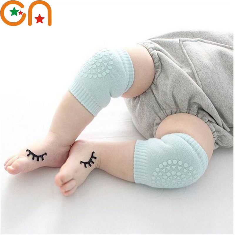 3pairs / Lot Baby leg warmers Infant Toddler boy girl Cotton Anti-skid Keep warm Knee protective cover pad socks Kid clothing CN