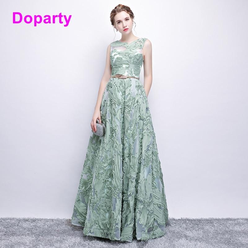 Doparty XS3 2018 formalne žene tirkizne luksuzne duljine duljine - Haljina za posebne prigode - Foto 1