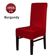 1 ud. Fundas universales de LICRA para sillas de decoración para hotel para fiesta de boda restaurante cafetería Vintage taburete fundas para comedor