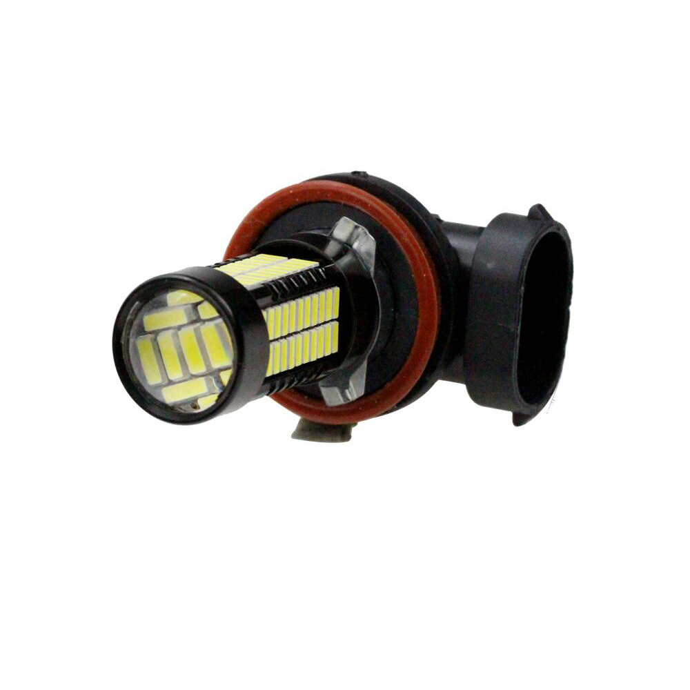Image 5 - 2pcs H8 H11 Auto LED Fog Light Bright White 12V 108SMD 4014 55W LED HeadLight Bulb DRL Lamp For Motorcycle Car Accessories-in Car Fog Lamp from Automobiles & Motorcycles